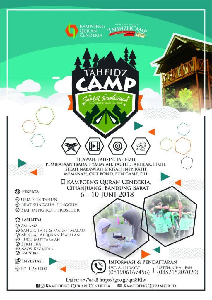 TahfizhCamp Sanlat Ramadhan 2018